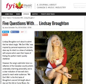 5 Questions for Lindsay